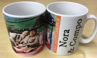 Compo and Nora -The Happy Couple Mug