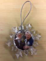 Nora and Compo Christmas Tree Bauble