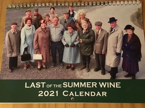 Last of the Summer Wine 2021 calendar