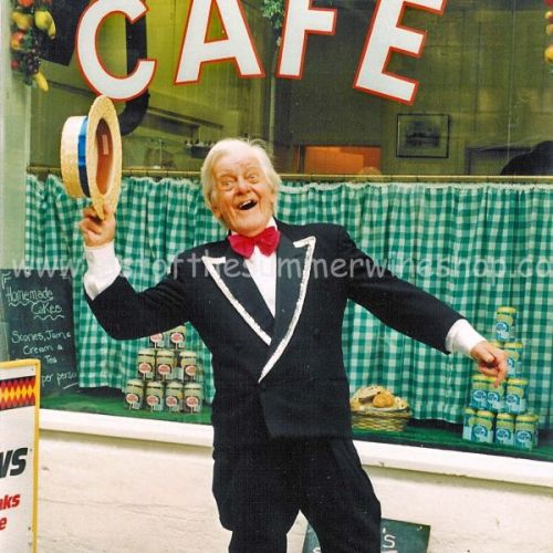 Compo's Maurice Chevalier Impression