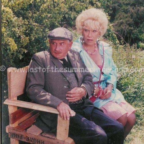 Marina & Howard on bench
