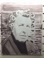 Jonathan Linsley Art - Nora Painting