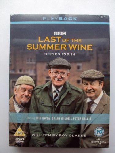 Last of The Summer Wine DVD Box Set Series 13 & 14