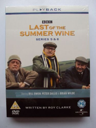 Last of The Summer Wine DVD Box Set Series 5 & 6