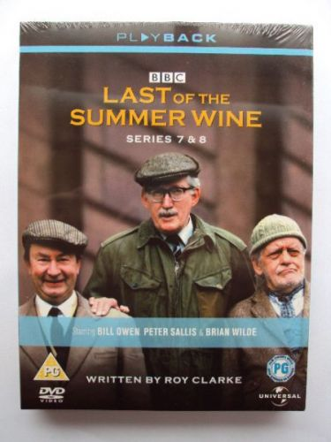 Last of The Summer Wine DVD Box Set Series 7 & 8