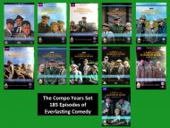 Last of The Summer Wine DVD Box Set Series 1 - 22 - The Compo Years Collection