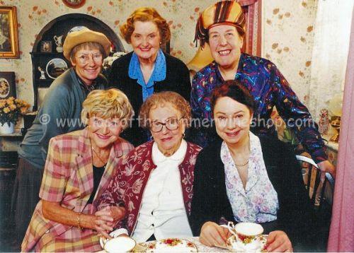 Nora, Ivy, Glenda, Roz, Edi & Pearl