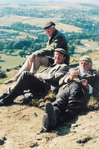 Compo, Clegg & Foggy on the Hill