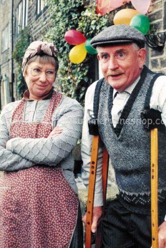 Pearl & Howard on Crutches