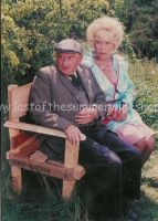 Howard & Marina on bench