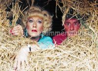 Howard & Marina hiding in Hay Bale
