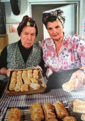 Nora & Ivy Baking Photo