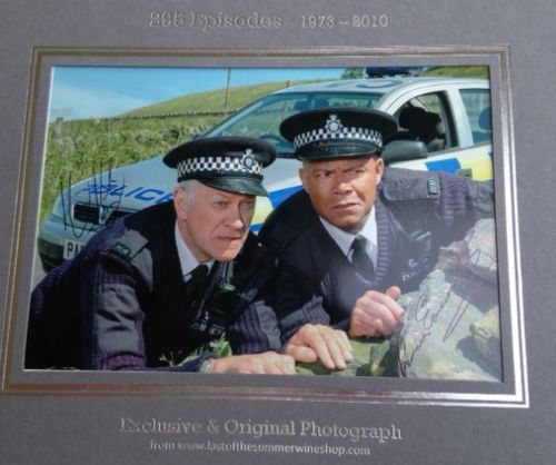 Two Policemen autographed Photo