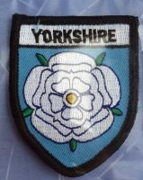 Souvenir Embroidered Badge