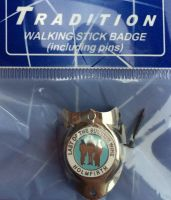 Walking Sticking Badge