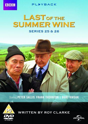 Last of The Summer Wine Dvd Box Set Series 25 & 26