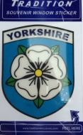 Yorkshire Window Sticker
